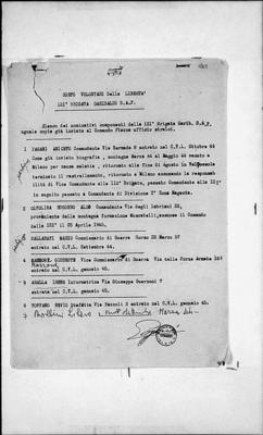 112ª brigata Garibaldi Sap G. Berini e 121ª brigata Garibaldi Sap